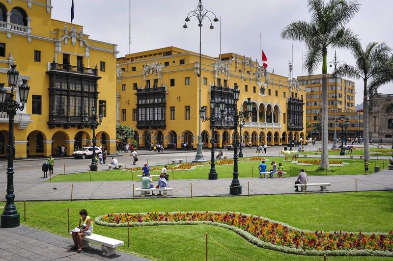 lima-municipal-building-city-hall-plaza-mayor-armas-peru-43063153